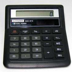 Calculator solar vintage Citizen SDC-810(319)