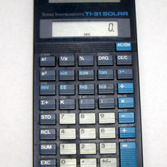 Calculator stiintific Texas Instruments TI-31 solar(671) - Calculator Birou