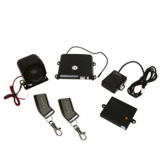 Alarma auto Carpoint cu 2 telecomenzi pentru masini cu cheie standard