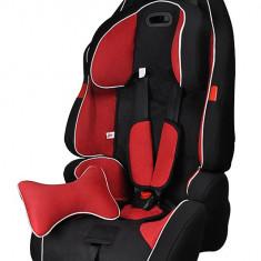 Scaun auto copil 9-36kg grupa 1-2-3 Rosu - Scaun auto copii grupa 1-2-3 (9-36 kg), 1-2-3 (9-36 kg), Isofix