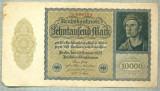 A 533 BANCNOTA-GERMANIA-10000 MARK-ANUL 1922-SERIA 006784-starea care se vede