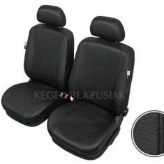 Huse scaune auto imitatie piele Audi 100 Set huse Fata - Husa scaun auto