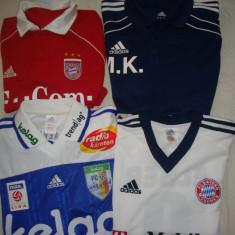 Tricou fotbal marca Adidas original, Culoare: Alb, Albastru, Rosu, Marime: L, XL