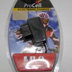 Incarcator marca Procell pentru telefoane NOKIA cu mufa subtire NOU sigilat(430) - Incarcator telefon Nokia