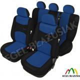 Set huse scaune auto SportLine Albastru pentru Opel Astra F Astra G Astra H - Husa Auto