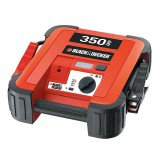 Robot pornire Black & Decker 12V/230V, starter 350Amp, 3 leduri, iesire 12V DC si cabluri de 61cm, Sub 8, Black & Decker
