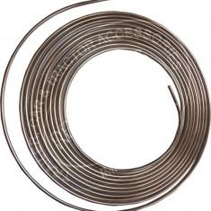 Conducta frana cupru diametru 3/16 76/400mm, cca 7.5 m lungime