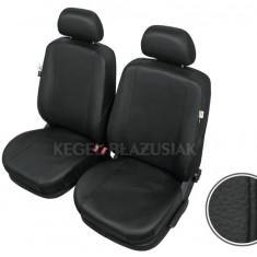 Huse scaune auto imitatie piele Rover 200 set huse fata - Husa scaun auto