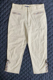Pantaloni Burberry London; marime M: 68 cm talie, 75 cm lungime etc.; ca noi
