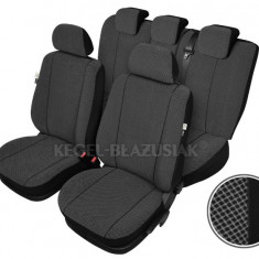 Set huse scaune auto Scotland pentru Seat Leon Fata + Spate - Husa scaun auto KEGEL-BLAZUSIAK