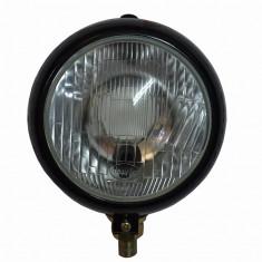 Proiector cu grilaj 160mm, lampa cu intrerupator, pentru tractoare utilaje - Kit turbo auto