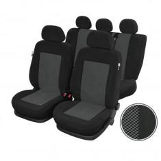 Huse scaune Dacia Logan Sedan set huse auto fata si spate Rubobostes - Husa scaun auto