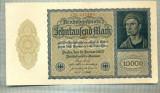A 530 BANCNOTA-GERMANIA-10000 MARK-ANUL 1922-SERIA 217104-starea care se vede