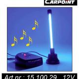 Lampa auto interior Carpoint 12V 1,8W 150mA , cu Neon de 10cm , Dancing Music , 1 buc.