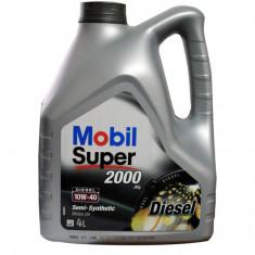 Ulei motor Mobil 1 Mobil Super 2000 X1 10W40 4 litri Diesel