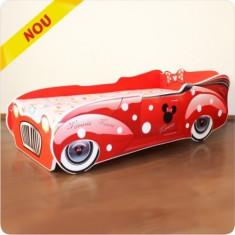 Pat copii Minnie Mouse - Pat tematic pentru copii Altele, Altele, Alte dimensiuni, Rosu