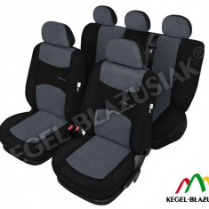 Set huse scaune auto SportLine Gri pentru Seat Altea - Husa Auto