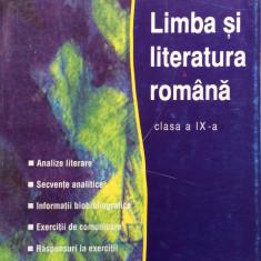 LIMBA SI LITERATURA ROMANA CLASA A IX-A -Hadrian Soare, Gheorghe Soare - Studiu literar