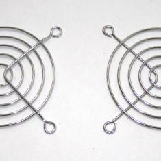 Set 2 grile pentru ventilatoare de 80mm(473) - Protectie PC