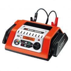 Redresor baterie auto Black & Decker 12V 10A incarcator automat cu display digital indicator incarcare - Redresor Auto