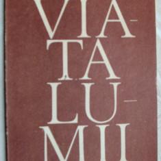 MIRCEA CIOBANU - VIATA LUMII (VERSURI, editia princeps - 1989) - Carte poezie