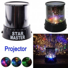 Set 2 Lampi proiector de stele - Lampa veghe copii