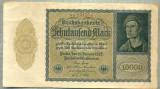 A 532 BANCNOTA-GERMANIA-10000 MARK-ANUL 1922-SERIA 251574-starea care se vede