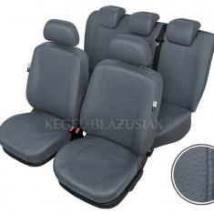 Huse scaune auto imitatie piele Seat Altea set huse fata + spate Culoare Gri - Husa scaun auto KEGEL-BLAZUSIAK
