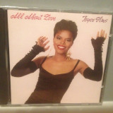 JOYCE SIMS - ALL ABOUT LOVE (1989/WARNER REC/GERMANY) - CD NOU/Sigilat/Original
