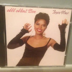 JOYCE SIMS - ALL ABOUT LOVE (1989/WARNER REC/GERMANY) - CD NOU/Sigilat/Original - Muzica R&B