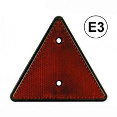 Catadioptru reflectorizant triunghi BestAutoVest fixare cu surub, 1 buc.
