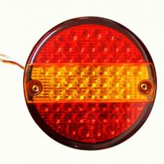 Lampa auto BestAutoVest pentru remorca rotunda cu leduri, 10-30V, 140mm, 1 buc.