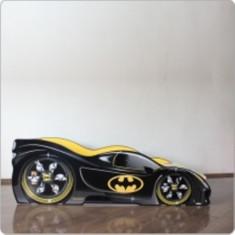 Pat copii masina Batman - Pat tematic pentru copii Altele, Altele, Alte dimensiuni, Negru