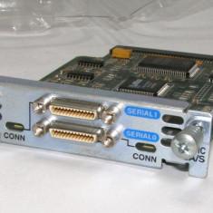 Cisco WIC - 2T 800-03182-02 B0 2-Port Serial WAN Interface Card Module(560)