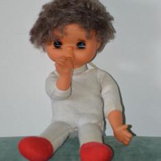 Papusa veche anii '70, Sekiguchi Gege Monchhichi (isi suge degetul), 28cm