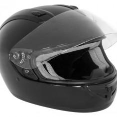 Casca moto Negru L cu sistem de ventilatie, termoplastic ABS