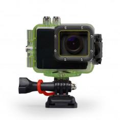 Camera video Sport Full HD cu carcasa rezistenta la apa (rezista pana la o adancime de aprox 60m)