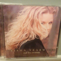 TRISHA YEARWOOD - REAL LIVE WOMAN (2000/MCA REC/ UK) - CD NOU/Sigilat/Original - Muzica Country warner