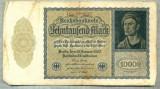 A 534 BANCNOTA-GERMANIA-10000 MARK-ANUL 1922-SERIA 208681-starea care se vede