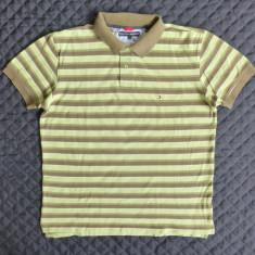 Tricou Tommy Hilfiger; marime XL: 60 cm bust, 72 cm lungime, 48 cm intre umeri - Tricou barbati, Culoare: Din imagine, Maneca scurta