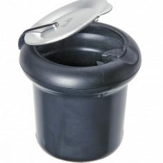 Scrumiera auto suplimentara rotunda cu baza magnetica