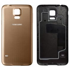 Carcasa Samsung Galaxy S5 i9600 Gold