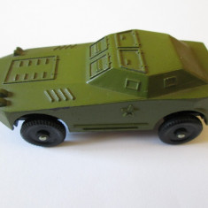 MACHETA MASINUTA MILITARA METALICA(TAB) RUSEASCA DIN ANII 80, STARE FOARTE BUNA - Macheta auto, 1:50