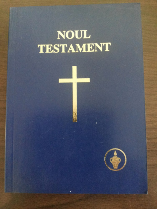 NOUL TESTAMENT - The Gideons International - St. Michel Print, 2005, 384 p.