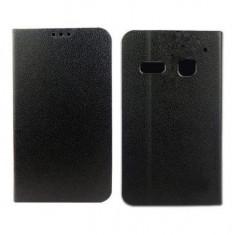 Husa Alcatel One Touch Pop C3 OT-4033D Flip Case Inchidere Magnetica Black - Husa Telefon Alcatel, Negru, Piele Ecologica, Cu clapeta, Toc