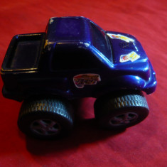 Masinuta cu roti mari - jucarie plastic, Champion Speedy, dim.= 4, 5x8, 2 cm - Vehicul