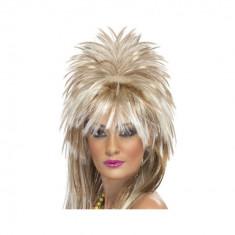 Peruca Rock Diva anii 80 - Carnaval24 - Costum carnaval