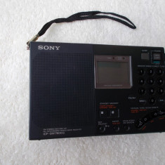 RADIO SONY ICF-SW7600G, FUNCTIONEAZA . - Aparat radio Sony, Digital