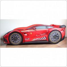 Pat copii Ferrari Tech - Pat tematic pentru copii Altele, Altele, Alte dimensiuni, Rosu