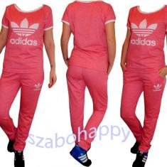 Trening Adidas pentru dama! - Trening dama Adidas, Marime: XL, Culoare: Roz, Bumbac